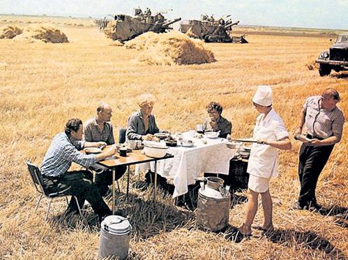 Украина всегда считалась житницей Советского Союза, а сейчас едва может прокормить саму себя