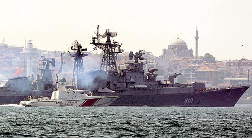 Российские военные корабли доставят Башару АСАДУ вертолёты Ми-25 и зенитные комплексы С-300. Фото: Reuters
