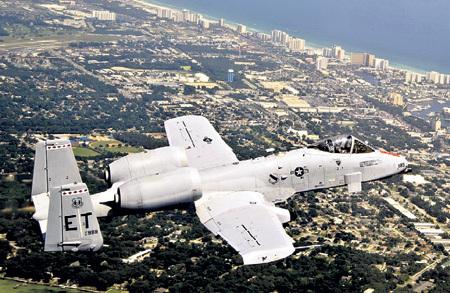 А-10С «Thunderbolt II» не требуется обычный авиационный керосин