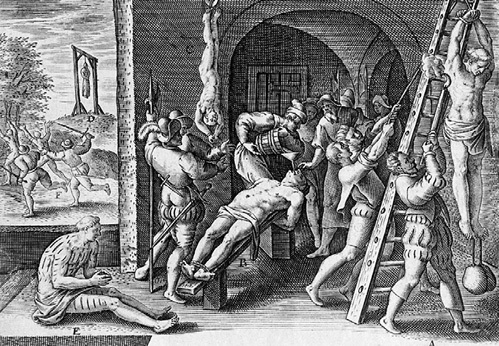 Предателей своего народа в Средневековье казнили самыми жуткими способами