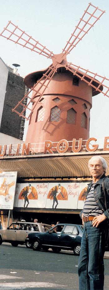 В свой первый приезд во Францию композитор так и не решился посетить знаменитое кабаре «Moulin Rouge»