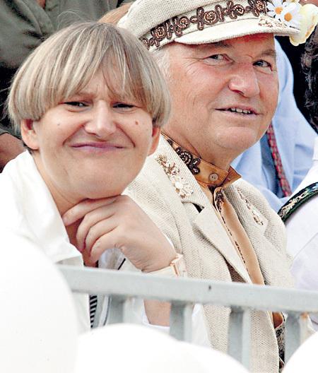 Елена БАТУРИНА и Юрий ЛУЖКОВ. Фото Анатолия ЖДАНОВА/«Комсомольская правда»