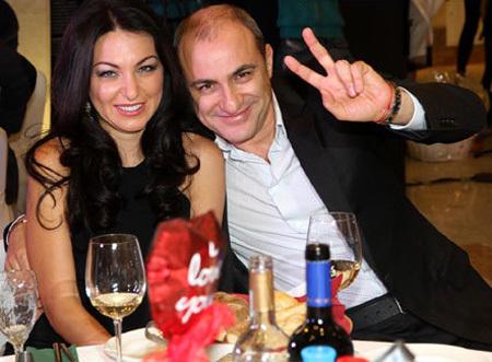 Михаил ТУРЕЦКИЙ с женой Лианой (фото Бориса КУДРЯВОВА)