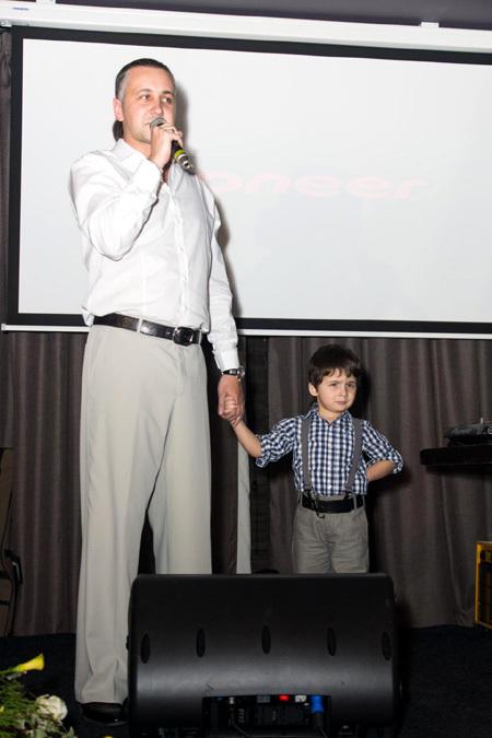 Илья ЗУДИН с сыном Матвеем