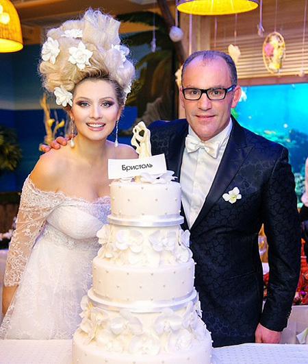 Лена ЛЕНИНА со своим избранником - французским банкиром