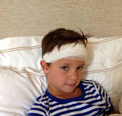 Младший сын Алики СМЕХОВОЙ Макар угодил в больницу