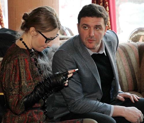 Ксения СОБЧАК и Максим ВИТОРГАН. Фото Бориса КУДРЯВОВА