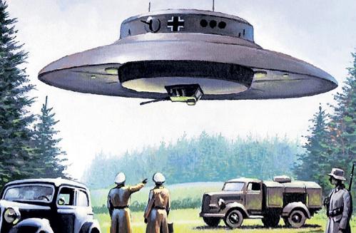Нацисты никогда не строили «летающих тарелок». Эту пропагандистскую утку запустили бывшие эсэсовцы, ставшие писателями