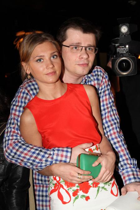 Гарик ХАРЛАМОВ и Кристина АСМУС. Фото Бориса КУДРЯВОВА
