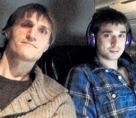 Андрей КИРИЛЕНКО (слева) помогал Лёше обустроить свой быт в Миннеаполисе. Фото: Vk.com