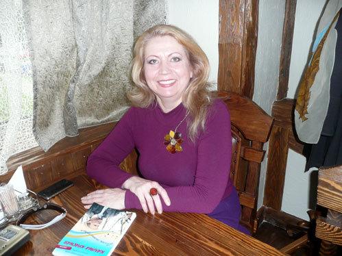 Ольга КОНЯХИНА после освобождения 2013 г. (Фото Михаила ФИЛИМОНОВА)