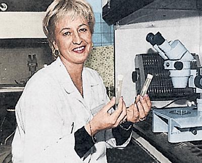 В этих пробирках Ксения ЯВОРОВСКАЯ пыталась скрестить яйцеклетку Аллы и сперматозоид Филиппа