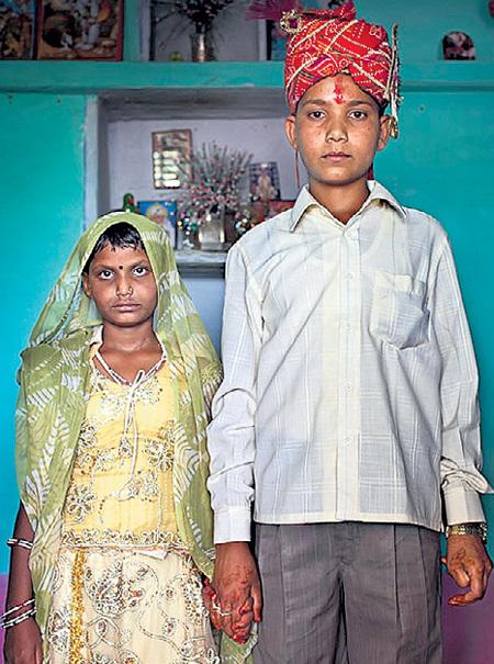 Детские браки для бедняков - шанс выжить