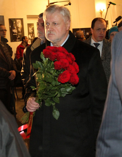 Сергей МИРОНОВ. Фото Бориса КУДРЯВОВА