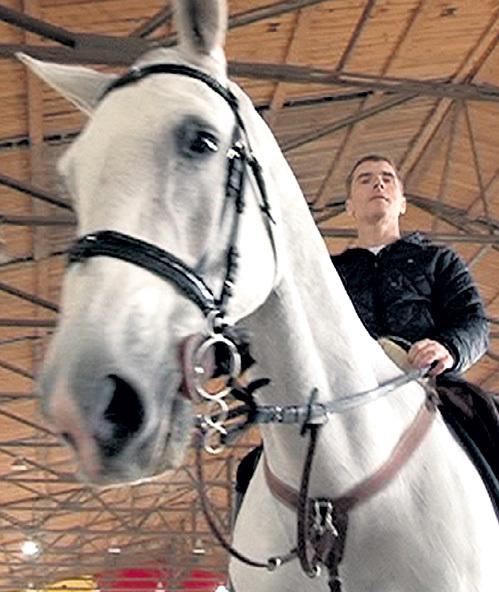Ваня снова на коне