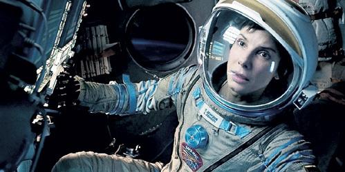 «Гравитация» - лауреат премии кинокритиков и основной претендент на «Оскар» (на фото - Сандра БУЛЛОК)