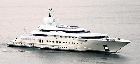 Та самая яхта