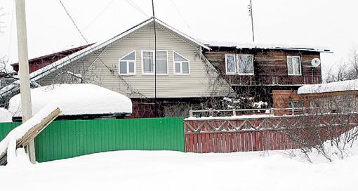 Дом в Хотьково, где Ёлка ютилась с супругом и его роднёй. Фото Руслана ВОРОНОГО