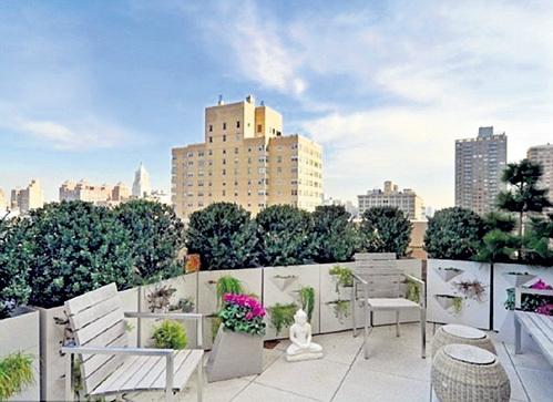 С каждой из трёх террас новой квартиры РИЧАРДСА открывается захватывающий вид на Манхэттен