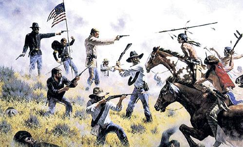 Сами вырезали коренное население Америки, а теперь других учат терпимости