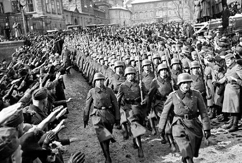 Вход фашистов в Прагу (1938 год)