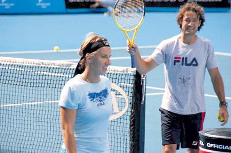 Светлана уверяет, что с Карлосом КУАДРАДО она занималась только теннисом
