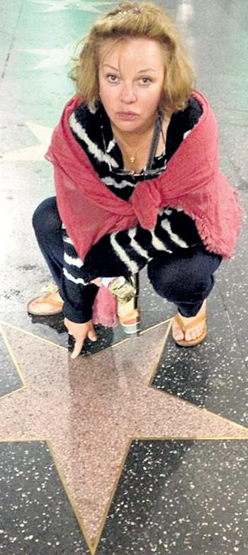 Минувшим летом Елена побывала в Лос-Анджелесе. Фото: Facebook.com