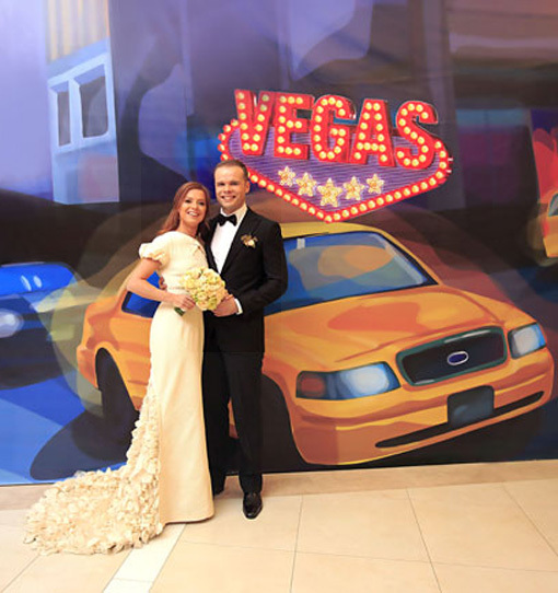 Счастливые молодожёны отпраздновали свадьбу в торговом центре. Фото: «Комсомольская правда»