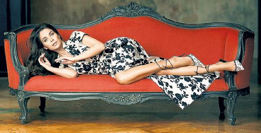 В модель Инну ГОМЕС режиссёр страстно влюбился. Фото: gomes.ru