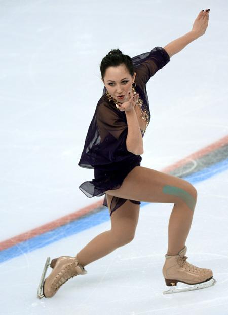 Вернувшись на лёд после годичного перерыва, ТУКТАМЫШЕВА показала блистательное катание. Фото: РИА «Новости»