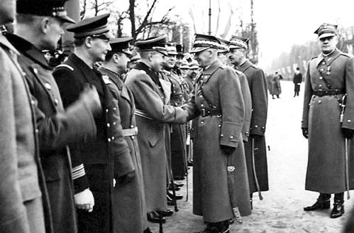 Польские вояки хотели прошагать вместе с вермахтом по Европе