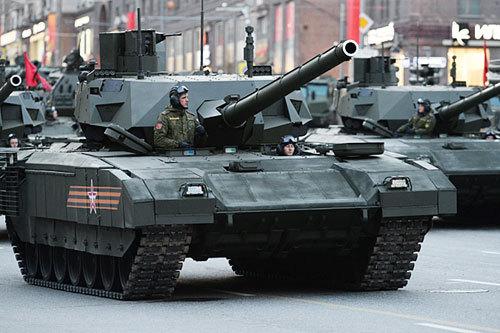 Танк «Армата» (Фото: РИА Новости)