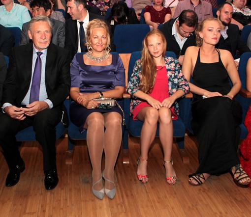Александр МИХАЙЛОВ с семьёй
