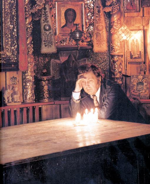 В широкой душе народного художника всегда уживалось святое и грешное