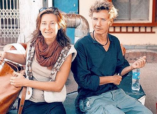 Саша и Марина недавно стали родителями. Фото: Facebook.com