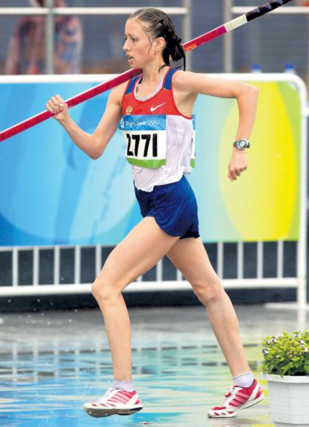Олимпийская чемпионка Ольга КАНИСЬКИНА освоит ходьбу с шестом