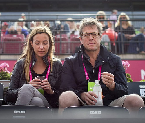 Анна ЭБЕРШТЕЙН, Хью ГРАНТ (Фото: Daily Mail)