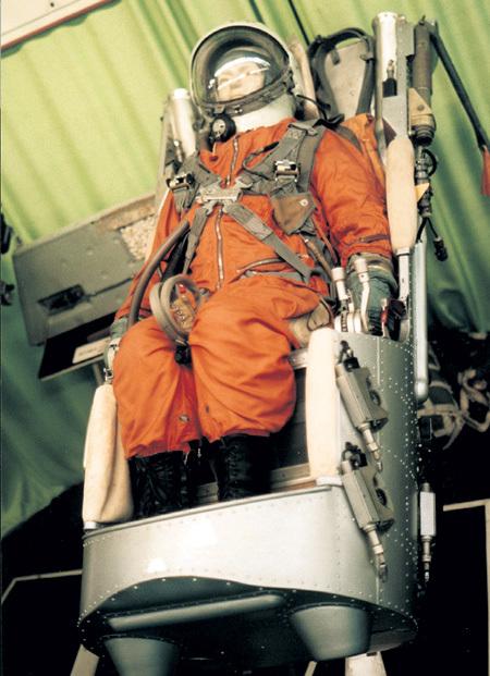 Первое космическое кресло - гагаринское
