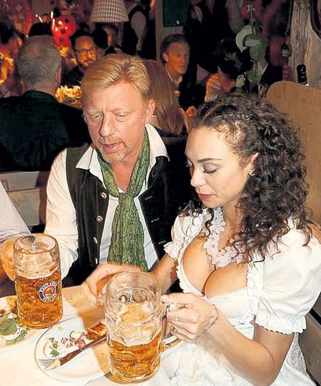У Бориса и Шарлили словно тихий семейный ужин
