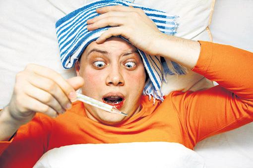 Высокая температура означает, что организм борется с заразой