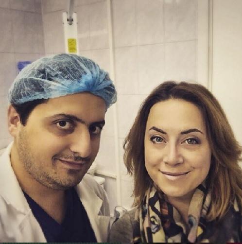 Наталья ФРИСКЕ и Арам АКОПОВ (Фото: Instagram.com)