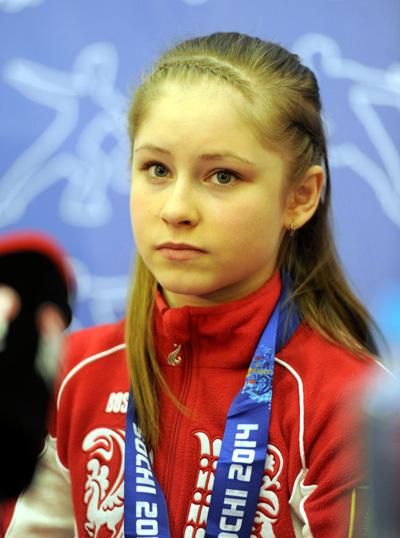Юлия ЛИПНИЦКАЯ. Фото Константина ИВАНОВА/ «Советский спорт»