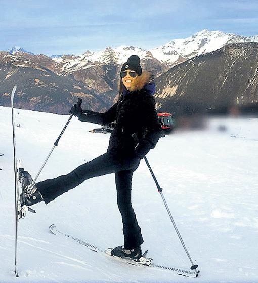 ТОПУРИЯ научилась на лыжах танцевать