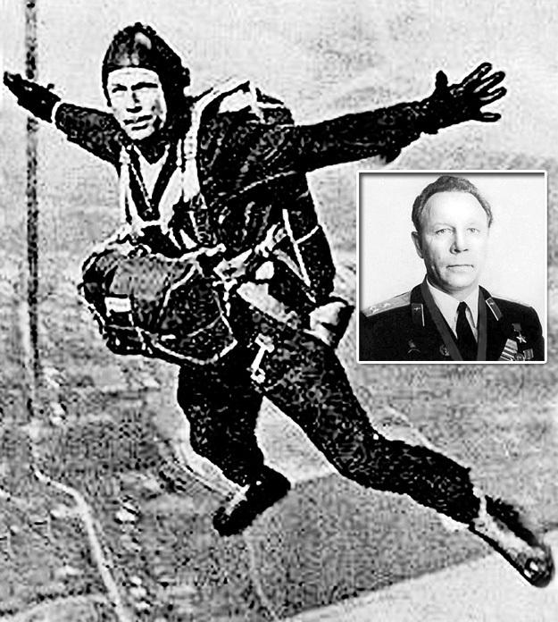 Герой Советского Союза Евгений АНДРЕЕВ восемь раз прыгал из стратосферы. Фото: wikipedia.org