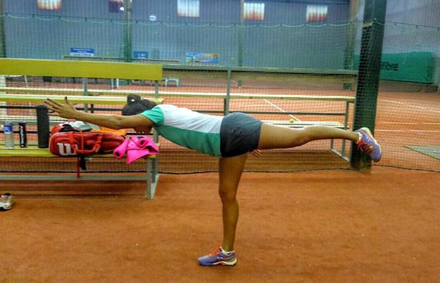 Бразильская теннисистка Паула Кристина ГОНСАЛВЕС...