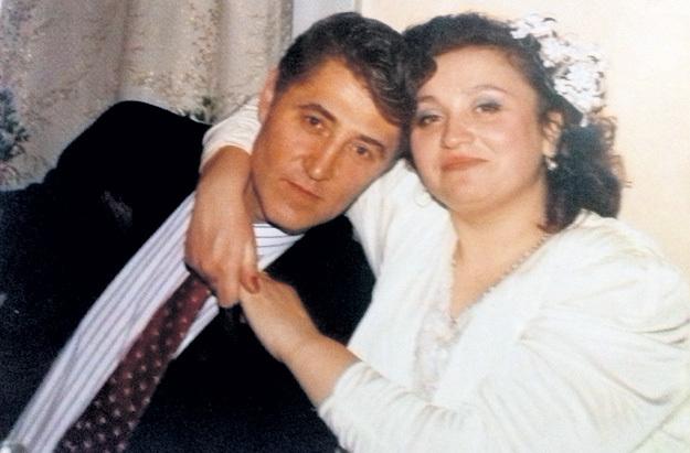Надежда КРЫГИНА и Виктор ГРИДИН сразу после свадьбы (1993 г.)