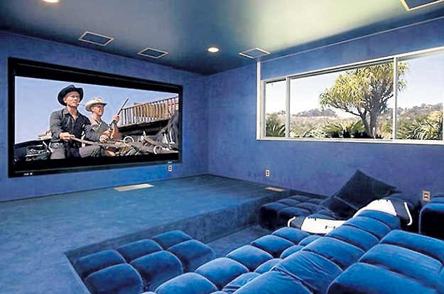 На домашний кинотеатр музыкант потратил больше $180 тысяч
