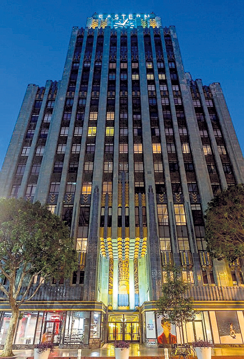 Пентхаус ДЕППА занимает пять верхних этажей башни в центре Лос-Анджелеса