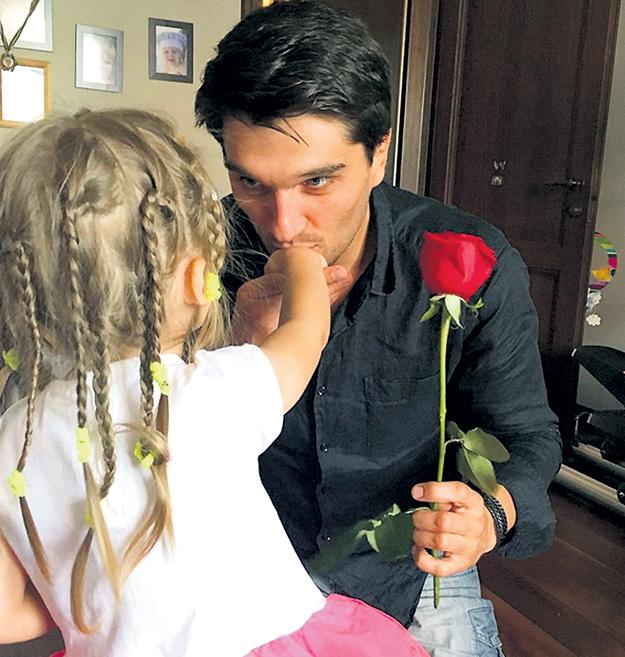 С Вахтангом БЕРИДЗЕ Ольга прожила в браке шесть лет и подарила ему дочку Анечку. Фото: Instagram.com