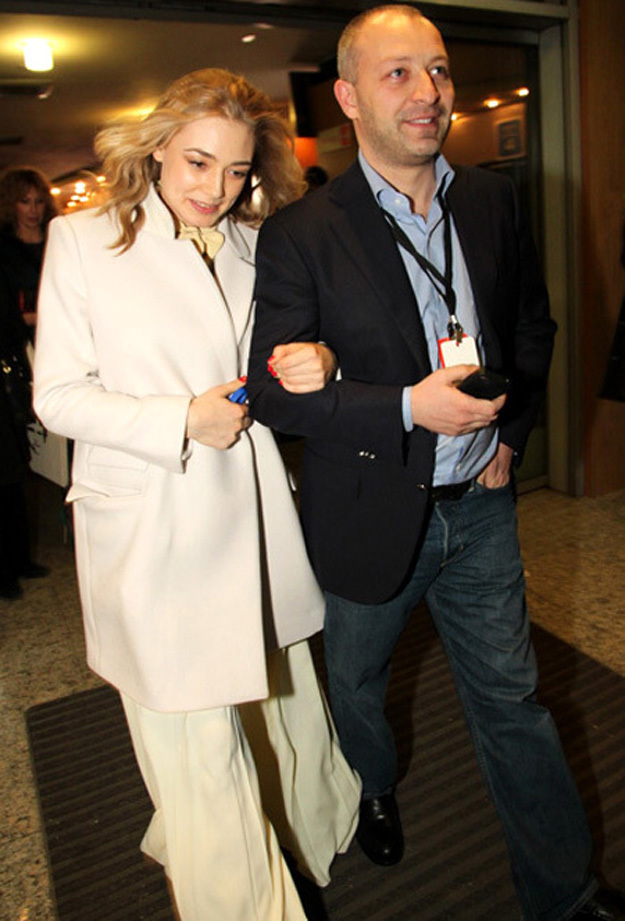 Оксана АКИНЬШИНА с мужем Арчилом ГЕЛОВАНИ. Фото Бориса КУДРЯВОВА
